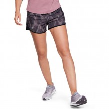 W UA FLY BY 2.0 PRINTED SHORT Women