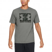 UA CAMO BOXED LOGO SS Men