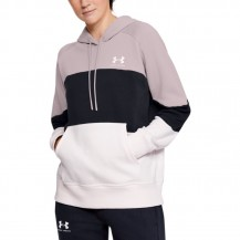UA-RIVAL FLEECE LOLOR BLOCK HOODIE Women