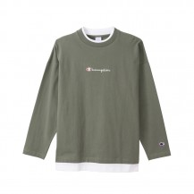 CHAMPION-L/S LAYERED T-SHIRT Men