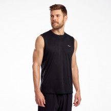 SAUCONY-STOPWATCH SLEEVELESS Men