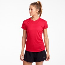 SAUCONY-STOPWATCH SHORT SLEEVE Women