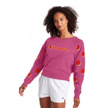 CHAMPION-CAMPUS FRENCH TERRY CREW Women